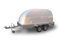 Прицеп ЛАВ-81013 с пластиковой крышкой