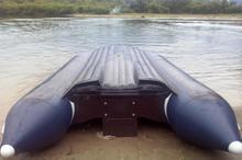 "Лодка надувная транц. ""СОЛАР-420 JET""  тоннель"
