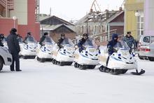 Снегоход TAYGA PATRUL 551 SWT «Силовые структуры»