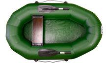 Надувная лодка пвх Фрегат М-1 с гребками