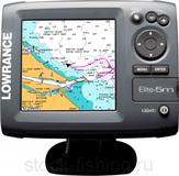Эхолот-навигатор Lowrance Elite-5 CHIRP