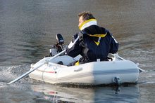 Лёгкая ПВХ лодка Lake Line 235 (НДНД)